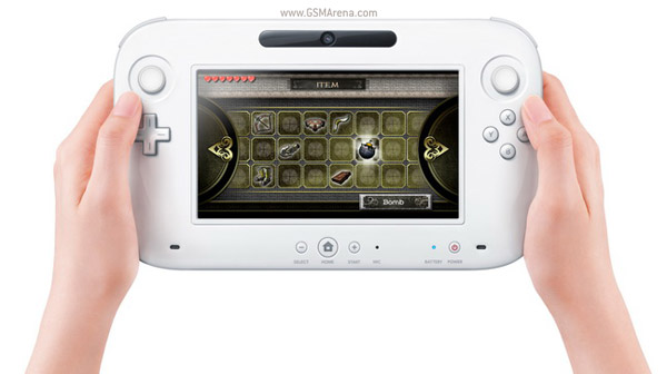 The Wii U controller on GSM Arena