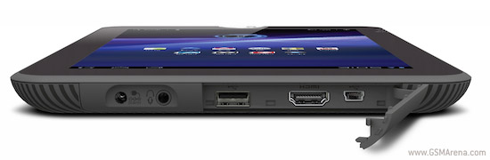Toshiba Thrive USB and HDMI ports