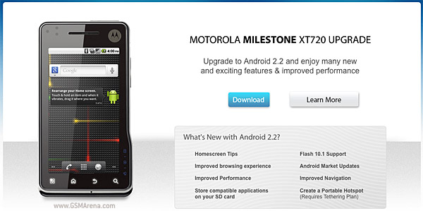 Motorola Milestone XT720