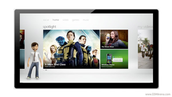 Xbox LIVE on Windows 8
