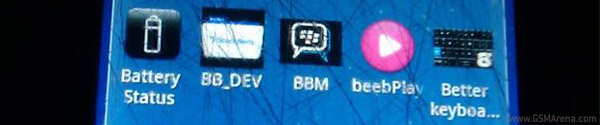 BBM icon on Android OS