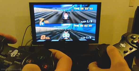 multiplayer gaming on a Samsung Galaxy S II with the N64oid emulator