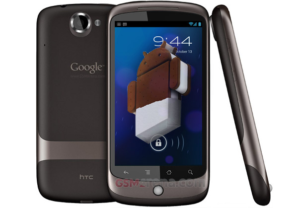Android 4.0 Ice Cream Sandwich running Nexus One [Video]