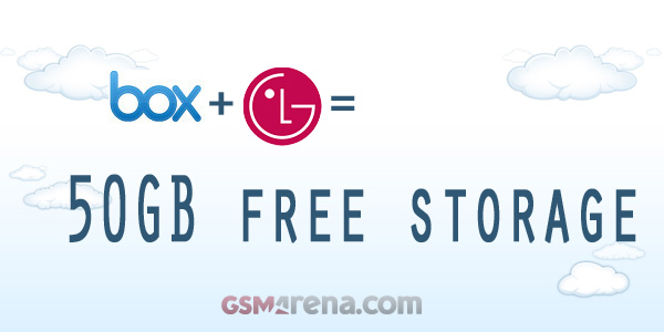 gsmarena 001 LG droids can get 50GB free cloud storage from Box.net too if theyre from the US