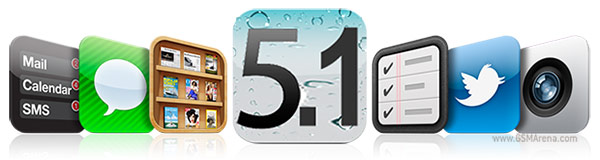 gsmarena 001 Apple seeds iOS 5.1 Beta to developers, hints at two iPads and iPhone 5