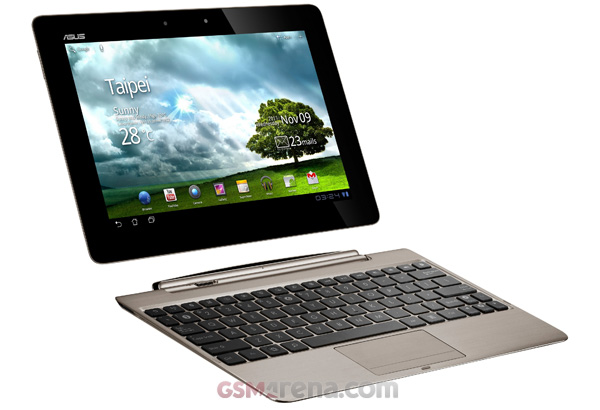 gsmarena 002 ASUS Eee Pad Transformer Prime becomes official, packs in quad core Tegra 3 and a 10 inch display