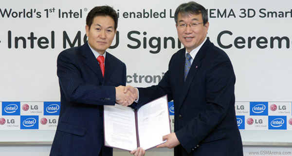 An LG/Intel partnership