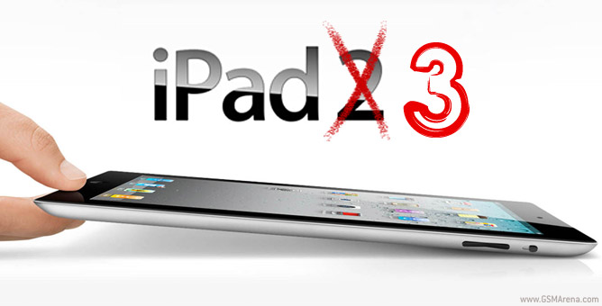 Is the iPad 3 just around the corner?