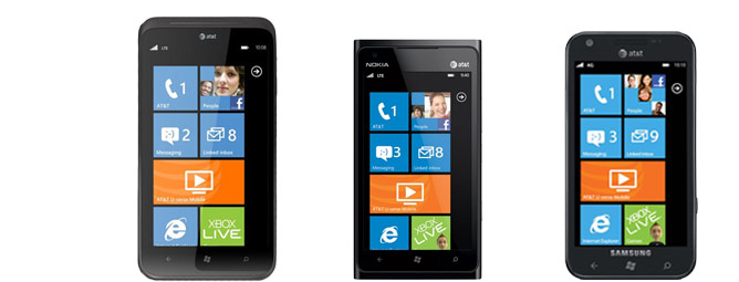 HTC Titan II vs Nokia Lumia 900 vs Samsung Focus S (Infographic)