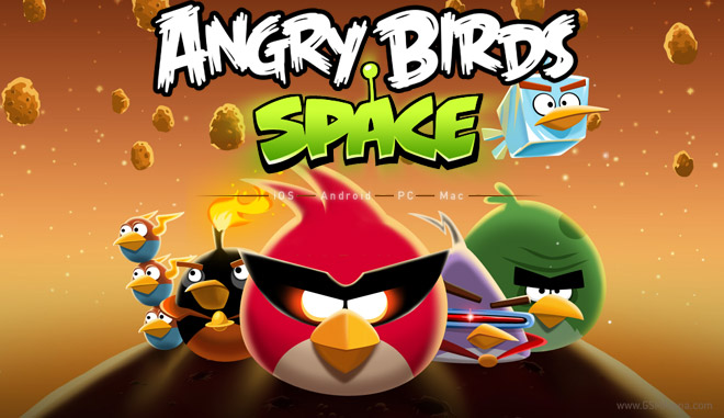 ����� angry birds space 1.0 MAC