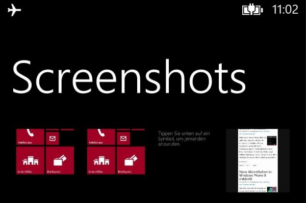 Windows Phone 8 emulator confirms rumored built-in screenshot feature