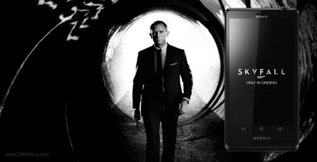 Sony Xperia T 007 Skyfall