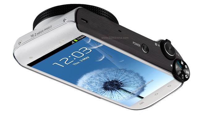 Câmera Samgung Galaxy S3 - imagem retirada do site GSM Arena