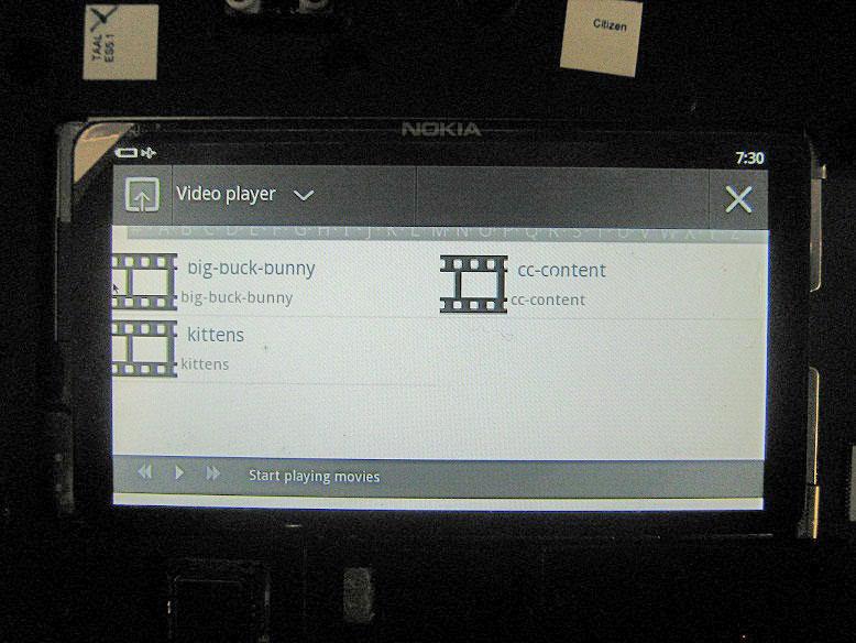 Nokia N9 tablet