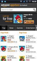 Amazon App Store client screenshot