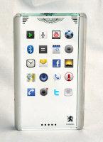 Mobiado CTP002 concept phone with Aston Martin
