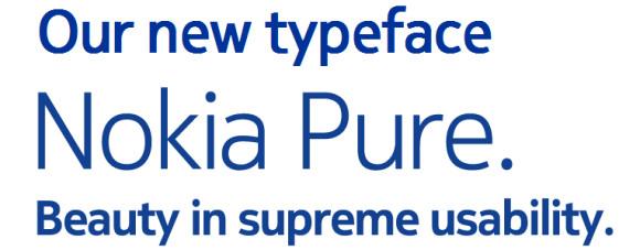 Nokia выпускает новый шрифт Nokia Pure
