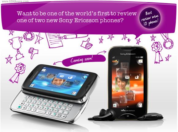 Два новых смартфона от Sony Ericsson