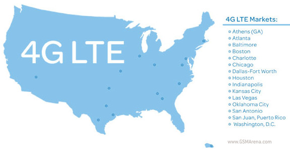 AT&T intros LTE in 11 more cities covers 74 million people now