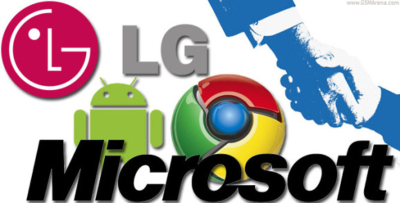 LG signs patent licensing deal with Microsoft