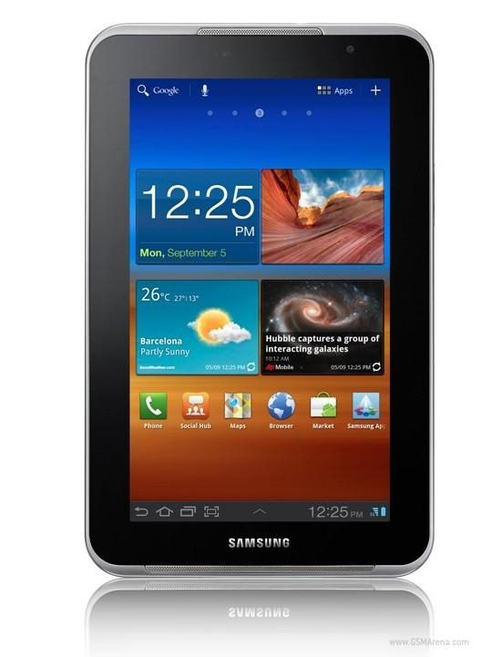 Samsung unveils Galaxy Tab 7.0N Plus
