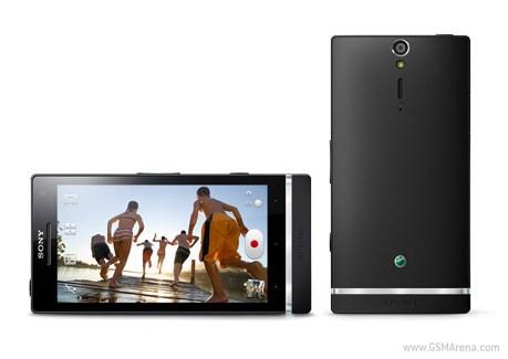 harga dan spesifiksi hp sony xperia s, kelebihan dan kelemahan xperia s android smartphone, gambar foto dan fitur handphone xperia s  layar HD