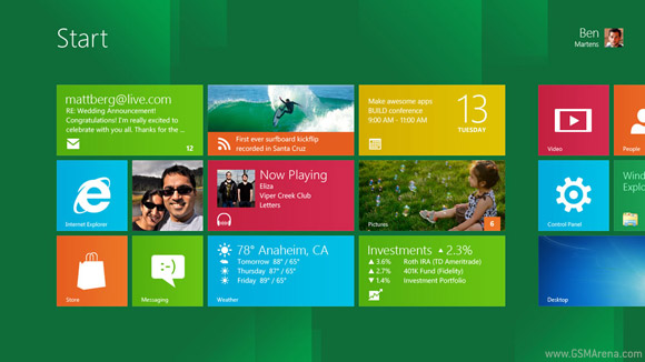 Windows 8 now stable on ARM processors
