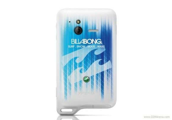 Sony Ericsson announces Xperia active Billabong edition