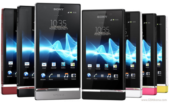 Xperia u white vs black