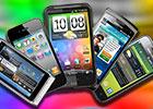 Mobile phone display mega shootout