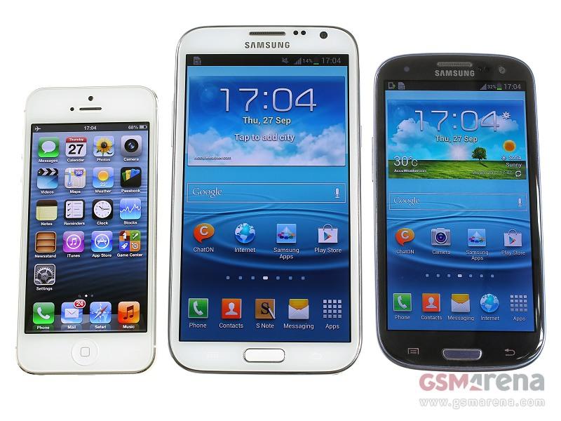 Samsung Galaxy Note 2 vs Samsung Galaxy s3 Galaxy s3 Galaxy Note 2
