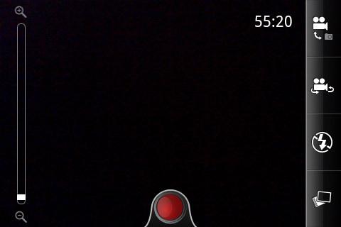 Tampilan Mode Kamera HTC ChaCha, SUMBER Gambar dari www.gsmarena.com