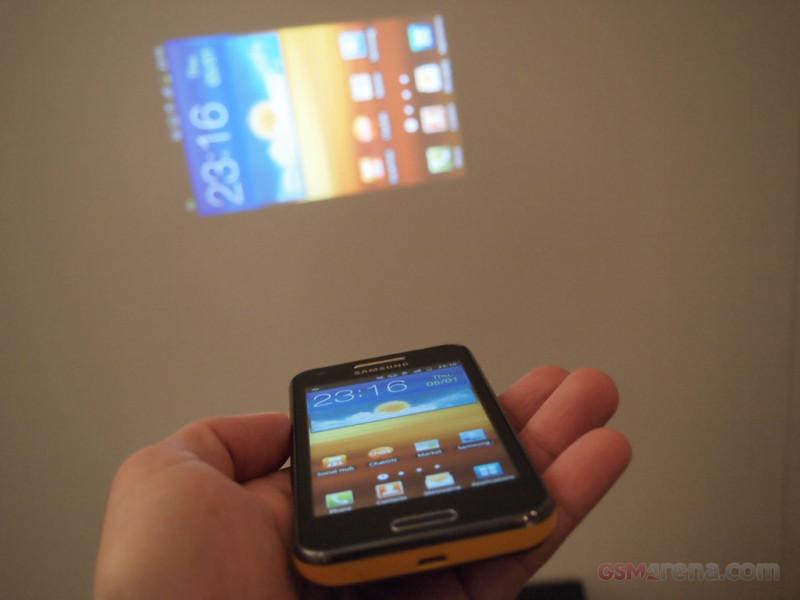 Samsung Galaxy Beam Projector Phones Go Mainstream