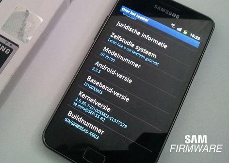 Galaxy S II 2.3.5