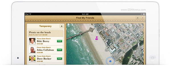 gsmarena 001 Apple introduces Find My Friends, lets you locate and share your location with others