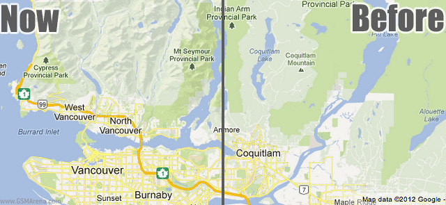 Google Maps Updated To Terrain Information Technology