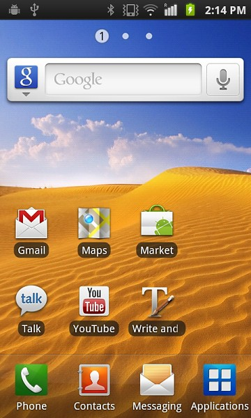 Galaxy S with 2.3.2