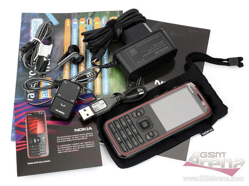 Nokia 5630 XpressMusic, hape musik keren, tipis dan ringan ...